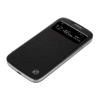 чехол hoco classic view case для galaxy siv s4 i9500 черный