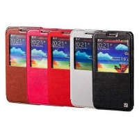 чехол hoco classic view case galaxy note 3 n9000 розовый