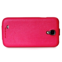 чехол hoco leather case для galaxy siv s4 i9500 розовый