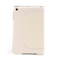 чехол-книга для apple ipad mini белый