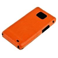 чехол melkco case для galaxy sii s2 i9100 оранжевый