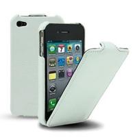 чехол melkco leather case для iphone 4 / 4s белый