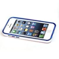 накладка бампер для iphone 5c глянцевая все цвета