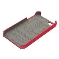 накладка hoco protection case для iphone 4 / 4s красная