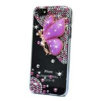 накладка ультратонкая «фея» для iphone 5 / 5s фиолетовая