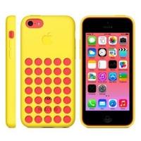 силиконовый чехол для iphone 5c (копия) желтый
