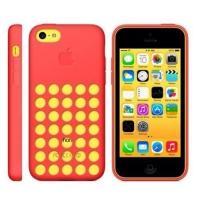 силиконовый чехол для iphone 5c (копия) красный