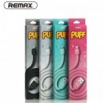 Кабель USB Lightning REMAX PUFF для зарядки и синхронизации