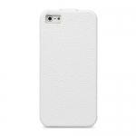 чехол melkco leather case для iphone se белый