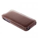 чехол melkco leather case для iphone se коричневый