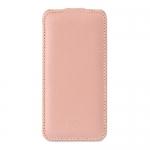 чехол melkco leather case для iphone se розовый