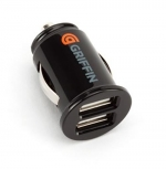 Автомобильное зарядное Griffin 2 USB 2.1А без кабеля