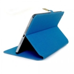 чехол для ipad mini protect с застёжкой синий