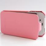 чехол hoco duke leather case для iphone 4/4s розовый