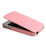 Чехол HOCO Duke leather case для iPhone 4/4S розовый