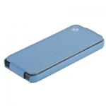 чехол hoco duke leather case для iphone 5 / 5s голубой