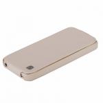 чехол hoco duke leather case для iphone 5c белый
