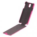 чехол hoco leather case для galaxy note 3 n9000 розовый