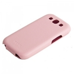 чехол hoco leather case для galaxy siii s3 i9300 розовый