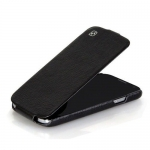 чехол hoco leather case для galaxy siv s4 i9500 черный