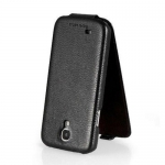 Чехол HOCO Leather Case для Galaxy SIV S4 I9500 черный