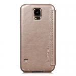 Чехол HOCO View Case Galaxy SV S5 G900F серебртстый