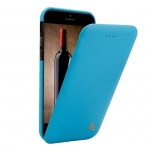 Чехол Jisoncase Genuine Flip Case для iPhone 6 Голубой