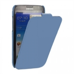 Чехол Melkco для Samsung Galaxy Note 2 N7100 голубой