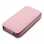 чехол melkco leather case для iphone 4 / 4s розовый