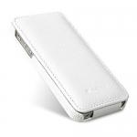 чехол melkco leather case для iphone 5 / 5s белый