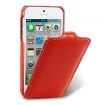 Чехол Melkco Leather Case для iPhone 5 / 5S красный