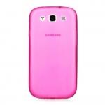 Накладка для Samsung Galaxy SIII S3 I9300 розовая