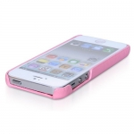 Накладка HOCO Protection case для iPhone 5 / 5S розовая