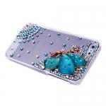 накладка ультратонкая «фея» для iphone 5 / 5s голубая